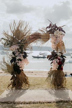 the-make-haus Palm Wedding, Fox Wedding, Magical Wedding, Floral Wedding, Wedding Flowers, Tropical Centerpieces, Wedding Centerpieces, Wedding Bouquets, Wedding Decorations