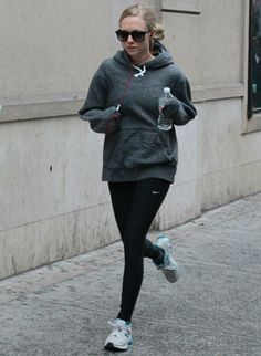 Amanda Seyfried Is Keepin' It Real : She was snapped while in jog mode yesterday. #SelfMagazine