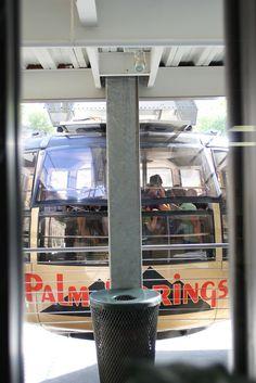 Palm Springs Aerial Tramway: Bottom Station - Tram Docking