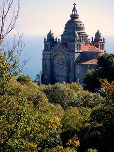 Basilica of St. Luzia : Viana do Castelo #Portugal
