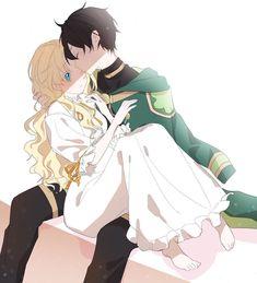 Lucas x Athanasia (manhua) Aaaahhh~💕 I ship it Anime Love Couple, Manga Couple, Anime Couples Manga, Cute Anime Couples, Anime Guys, Kawaii Anime Girl, Anime Art Girl, Manga Art, Familia Anime