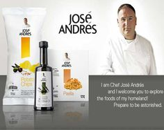 José Andrés Debuts New Line of Food Products