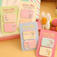 1 Pcs Cute Kawaii Korean Japanese School Kids Children Post It Sticky Notes Paper Page Flag Office School Supplies Stationery