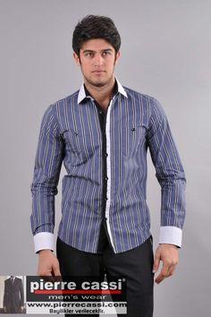 Erkek spor giyim gömlekleri   www.wingsmen.com Suit Jacket, Menswear, Shirt Dress, Suits, Mens Tops, How To Wear, Jackets, Dresses, Fashion
