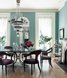 81 best blue dining rooms images kitchen dining dining room rh pinterest com