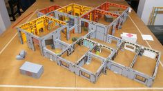Miniature terrain for Infinity by Forgenoiser!