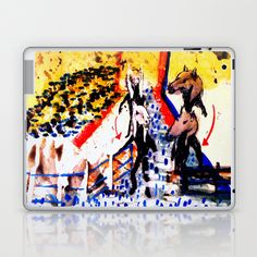 colours farm. Laptop & iPad Skin by seb mcnulty - $25.00