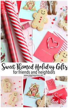Christmas song themed gifts
