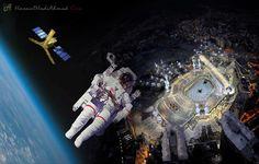 Subhanallah!! Mekah Dan Madinah Paling Terang Dari Angkasa Lepas | Seorang angkasawan Russia semalam berkata, bandar suci Mekah dan Madinah