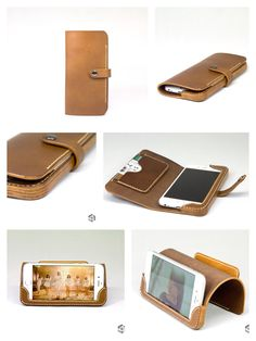 Diy Leather Phone Case, Handmade Leather Wallet, Leather Hats, Leather Craft, Leather Sandals, Small Leather Goods, Leather Accessories, Leather Cover, Leather Working