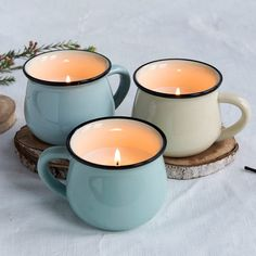 Scented Candle In Mugs