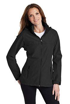 Port Authority Women's Torrent Waterproof Jacket L333 Black 4XL