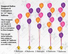 Balloons, Balloons & More Balloons! Balloon Box, Balloon Stands, Balloon Display, Balloon Bouquet, Balloon Arch, Balloon Garland, Balloons And More, Helium Balloons, Confetti Balloons