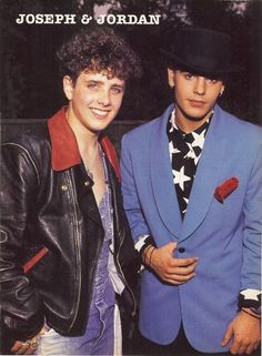 Joey McIntyre & Jordan Knight