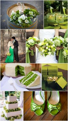 Planning Tips: Green Wedding Color Ideas & Inspiration
