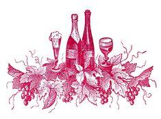*The Graphics Fairy LLC*: Vintage Clip Art - Port Wine Label