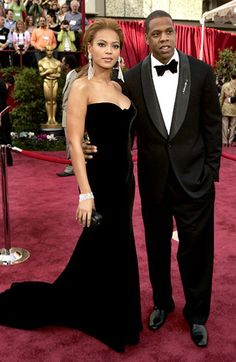Beyonce and Jay-Z dazzled on the red carpet of the Academy Awards in 2005
