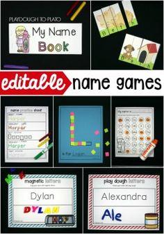 Name Songs for Kids - Playdough To Plato