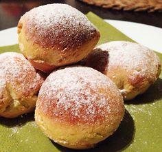 Muffin formában sült fánk. Tökéletesen magas és puha, olajszag nélkül! - www.kiskegyed.hu Easy Desserts, Dessert Recipes, Food Humor, Confectionery, Muffin, Cake Cookies, Food Art, Nutella, Bakery