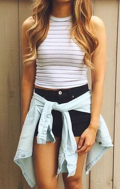 s cute summer outfits ideas no 19 fashion летняя одежда, иде Spring Summer Fashion, Spring Outfits, Summer Concert Outfits, Cute Summer Outfits For Teens For School, Teen Summer Outfits, Casual Summer Outfits For Teens, Summer Fashion For Teens, Teen Outfits, Summer Fashions