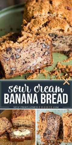 Sour Cream Banana Nut Bread is super moist with a crunchy sweet topping. Put those ripe bananas on your counter to good use and make a batch of this delicious quick bread. You can easily double or… More