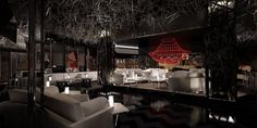 DSTRKT London: One of the most exclusive and prestigious clubs in London  Here's a glimpse of the sophisticated interiors.
