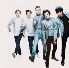 5 chicos hermosos