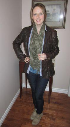 Glitterary Girl  www.glitterarygirl.blogspot.com  #layers #chambray #Danier #Guess #Gap #Gapfashion #JoeFresh #canadianblogger #style #fashion