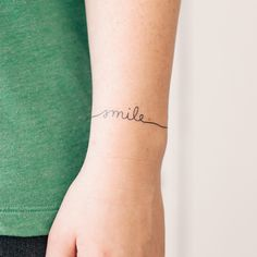 Cute bracelet tattoo
