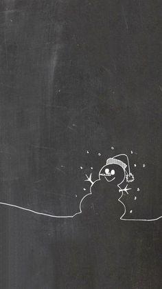 Chalkboard Flower Doodles Clipart