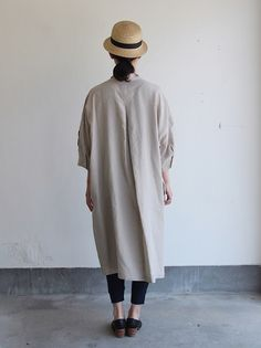 ARTSSCIENCE Stand collar big tunic dres