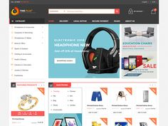 Timeplus - Mega Store Bootstrap Template by DevItems LLC