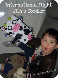 International Flight with a Toddler (eek!) – Hiragana Mama