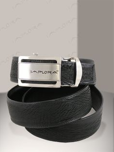 Implora Black Shark Skin Belt 1.5W