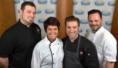 We are pleased to announce the 2014 #cooking4kids Featured Chefs (left to right)! Chef Michael Carrino of Pig & Prince Gastro Lounge; Chef Ariane Duarte of CulinAriane;  Chef Ryan DePersio of Fascino, Nico Kitchen + Bar at NJPAC & Battello; and Chef Anton Testino of Tony's Touch of Italy