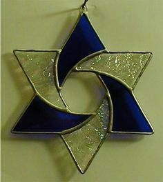 "jewish star designs | Photo of original stained glass Star of David is courtesy of ""Designs ..."