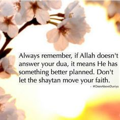 Must always remember...