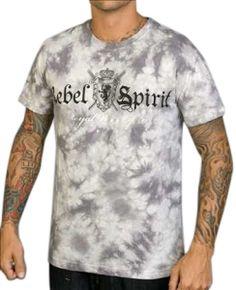 Rebel Spirit Daggers T-Shirt (Silver)