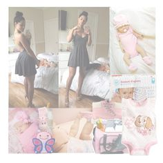 """××Samantha"" by fvcking-hoes ❤ liked on Polyvore featuring moda, Timberland, Disney, Carter's e Skip Hop"