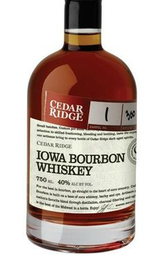 For the best in bourbon, go straight to the heart of corn country. Cedar Ridge Bourbon is built on a base of corn whiskey, barley and rye. Whisky, Whiskey Distillery, Bourbon Drinks, Bourbon Whiskey, Whiskey Trail, Whiskey Sour, Scotch Whiskey, Alcohol Drink Recipes, Fun Drinks