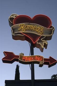 Romeos Neon Austin TX via flickr
