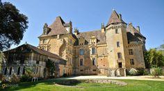 Замок Ланке – #Франция #Аквитания (#FR_B) Национальный исторический памятник Франции.  ↳ http://ru.esosedi.org/FR/B/1000446906/zamok_lanke/