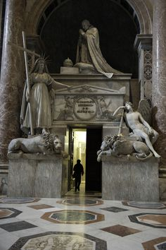"""St. Peter's Basilica, Vatican City, Italy ( """"You SHALL NOT make for yourself an idol, or any likeness of what is in heaven above or on the earth beneath or in the water under the earth"""" Exodus 20:4"""