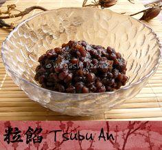 Tsubu-an, rote Bohnenpaste für japanische Süßigketen - Wagashi Maniac