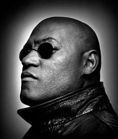 Laurence Fishburne by Platon
