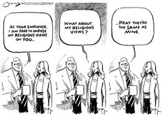 GREEDY CORRUPT SCJ... CHANGED THE LAWS TO ALLOW DISCRIMINATION!!  AL Jack Ohman@gocomics.com