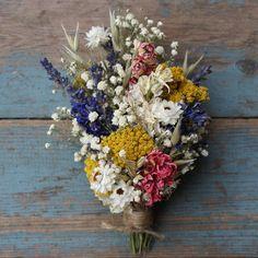 Dried Wedding Flower Creations by EnglishFlowerFarmer Fresh Flowers, Dried Flowers, Corsage Pins, Corsages, Flower Company, Groom Looks, The Wedding Date, Wedding Stuff, Fantasy Wedding