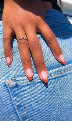 romantic nail art, heart nail art designs, white nail art designs, heart tip nails - Nails Minimalist Nails, Pretty Nail Art, Cool Nail Art, Sexy Nail Art, Pretty Nail Colors, Gel Nail Colors, Spring Nails, Summer Nails, Winter Nails