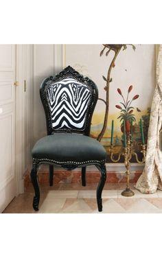Modern rococo / baroque chair