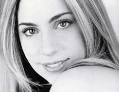 Lady Gaga senior picture/headshot is the epitome of semi-professional mall portraiture.